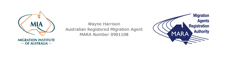 Wayne Harrison | Australian Registered Migration Agent