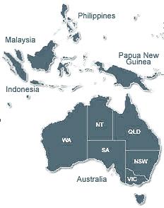 Australian Trades - map